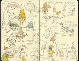 Scottish doodles