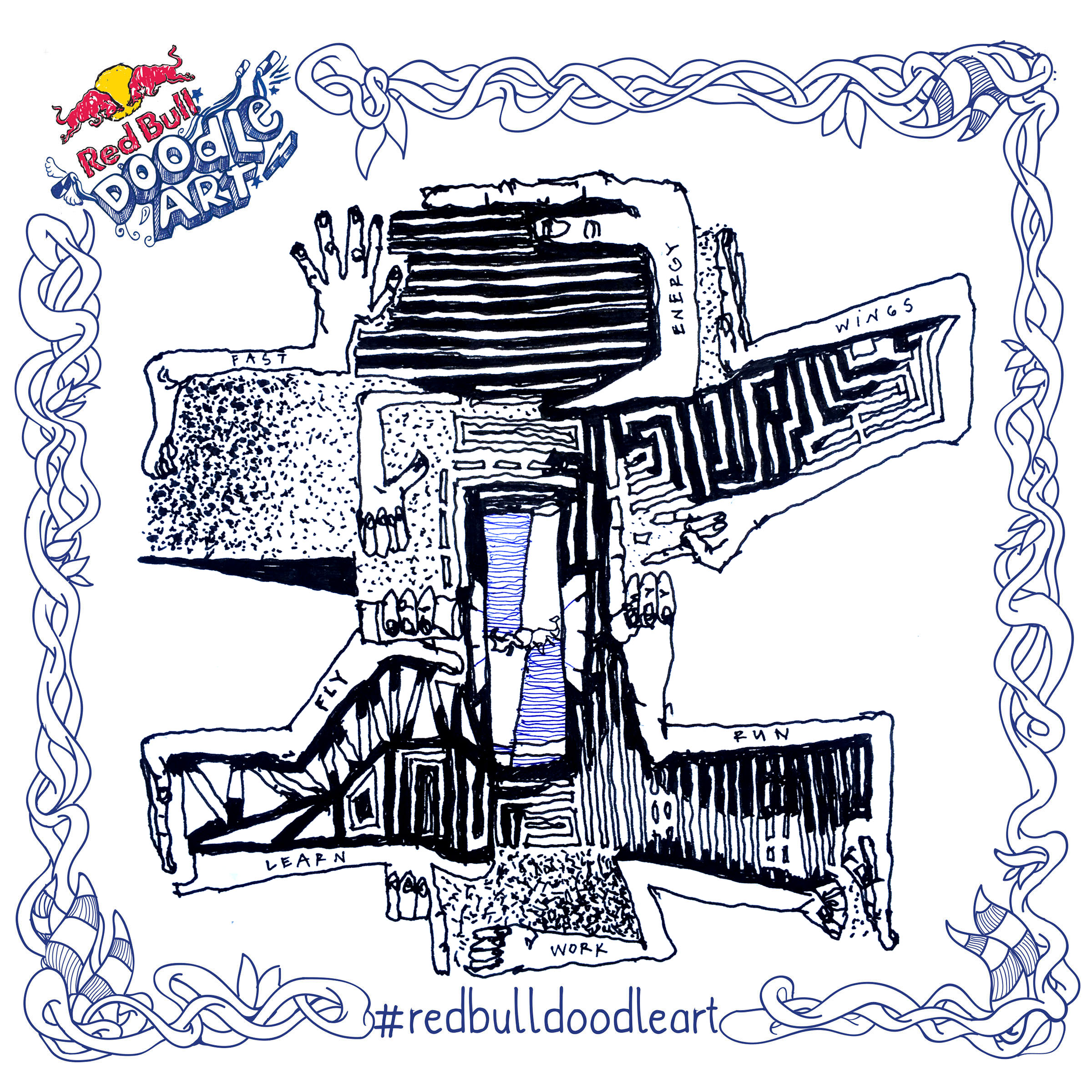 #redbulldoodleart – We got Wings