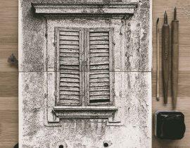 Una finestra romana.