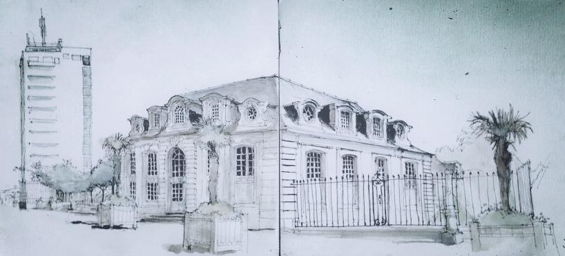northern pavilion