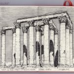 The Temple of Olympian Zeus, also known as the Olympieion.