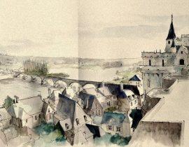 village in central france