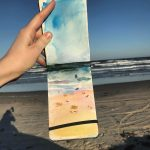 Plein Air of The Gulf of Mexico