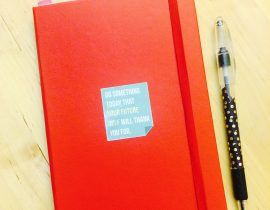 2017 Red Moleskine Cover