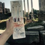 Columns at The Roman Forum