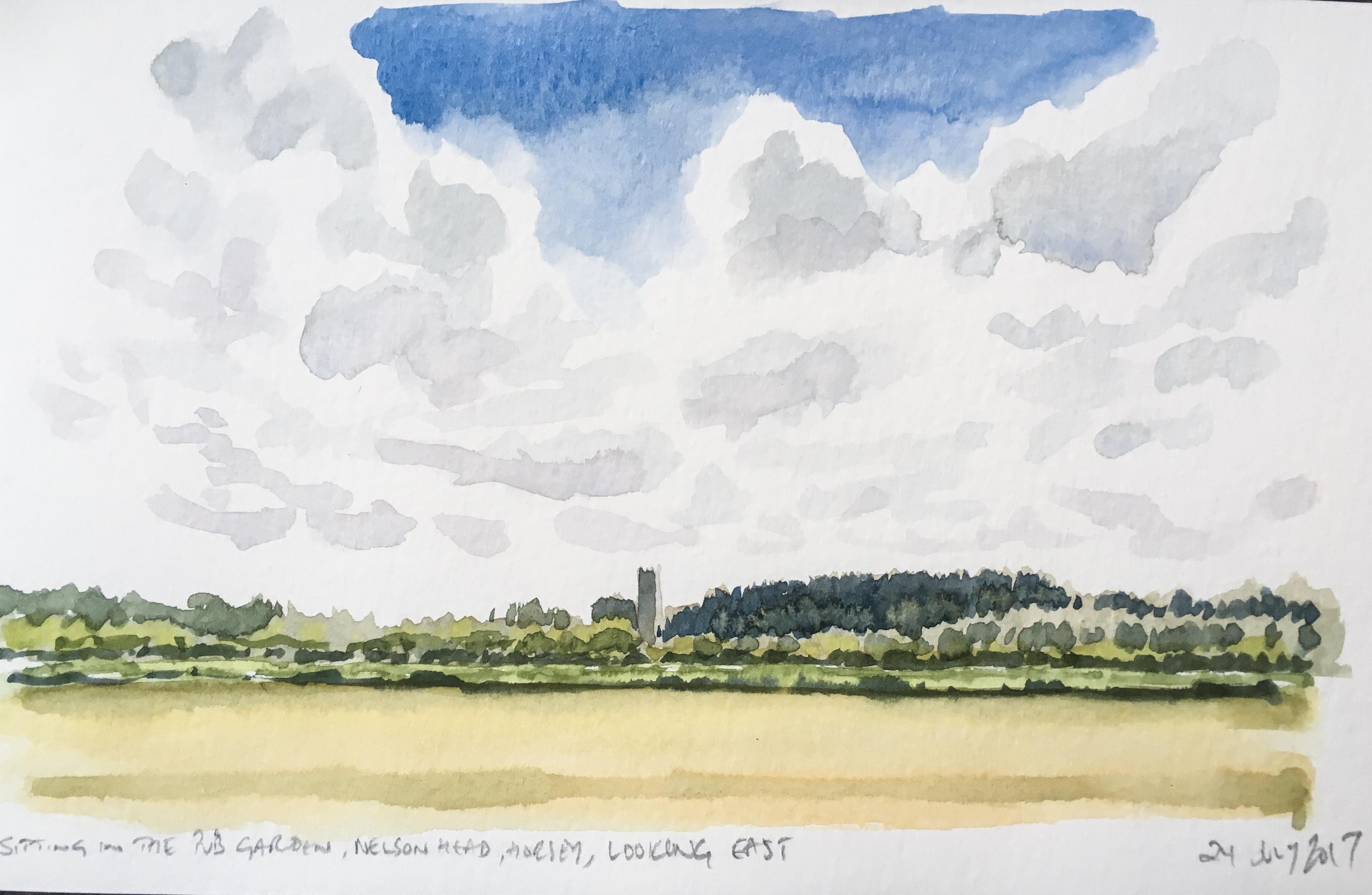 Towards Winterton, Norfolk Broads