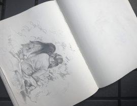 Sketching students