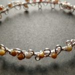 Micro-faceted Crazy Agate Headdress…