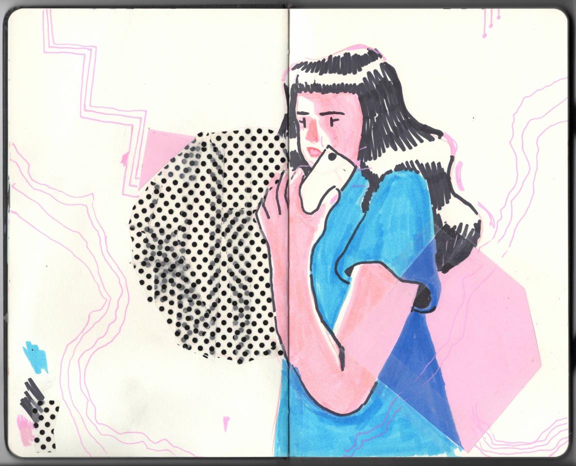 Tape Sketch