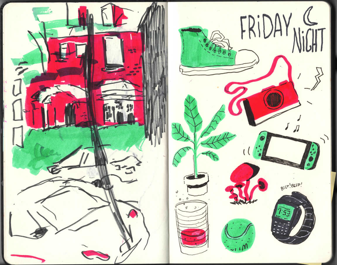 Friday Night Sketches