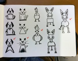 Character design process #2