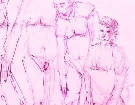 Pink Naked Men