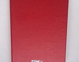 My personalised message MSK Art notebook