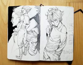 Hisoka and Killua
