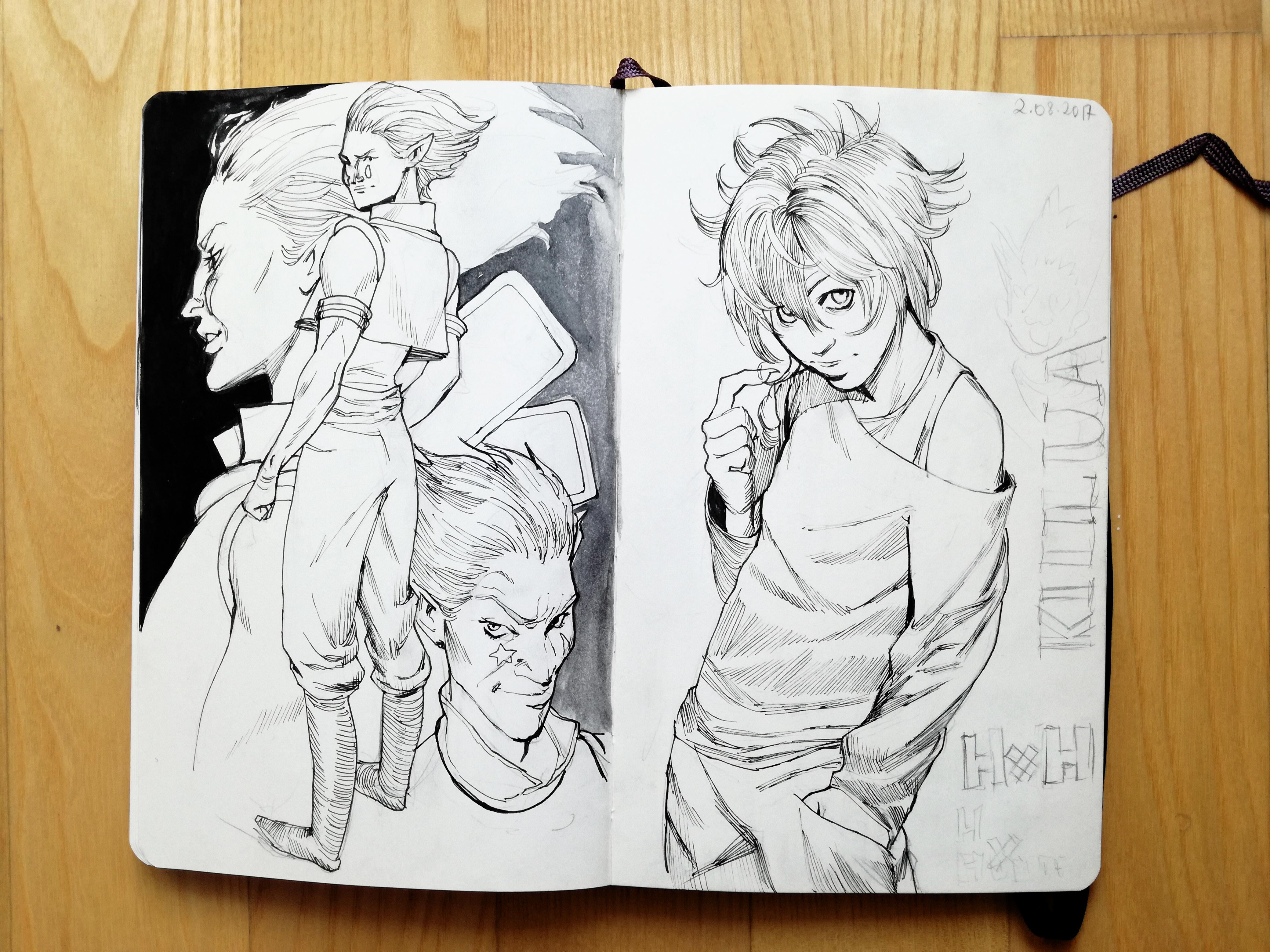 Hisoka and Killua