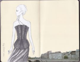 Fashion illustration 28