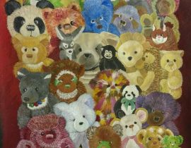 36 bears & friends…