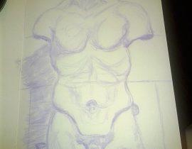 Minneapolis Institute of Art Sketch One
