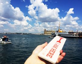 Ferries in Istanbul Bosphorus