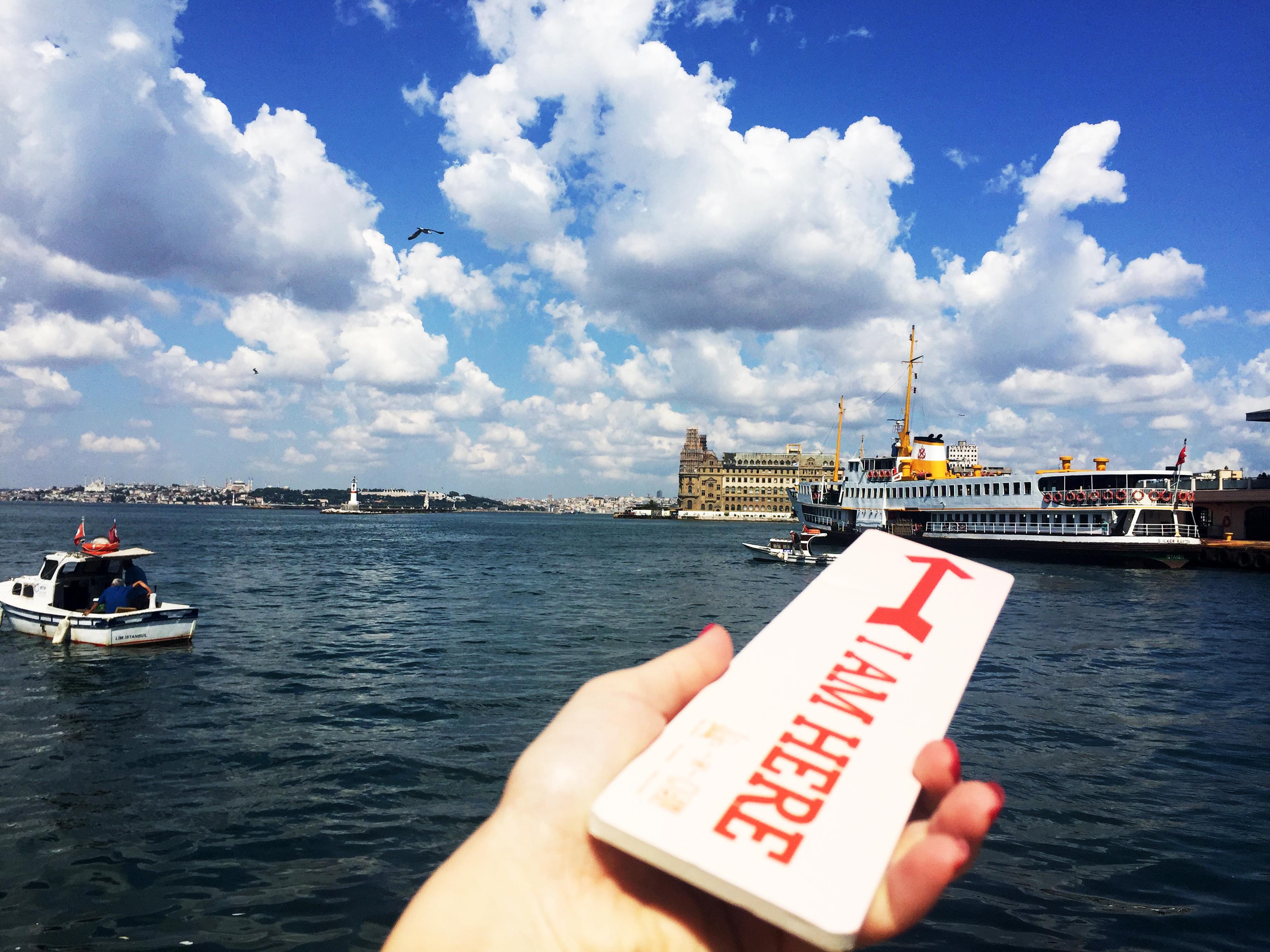 Ferries in Istanbul Bosphorus