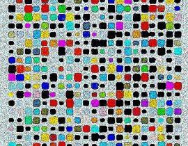 squares – polychromatic
