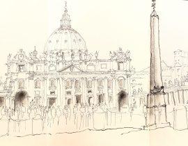 san pietro in Roma