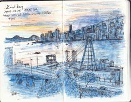 morning at hongkong