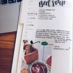 Recipes calligraphy