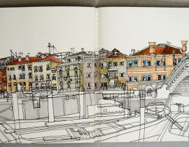 Sketching in Venice