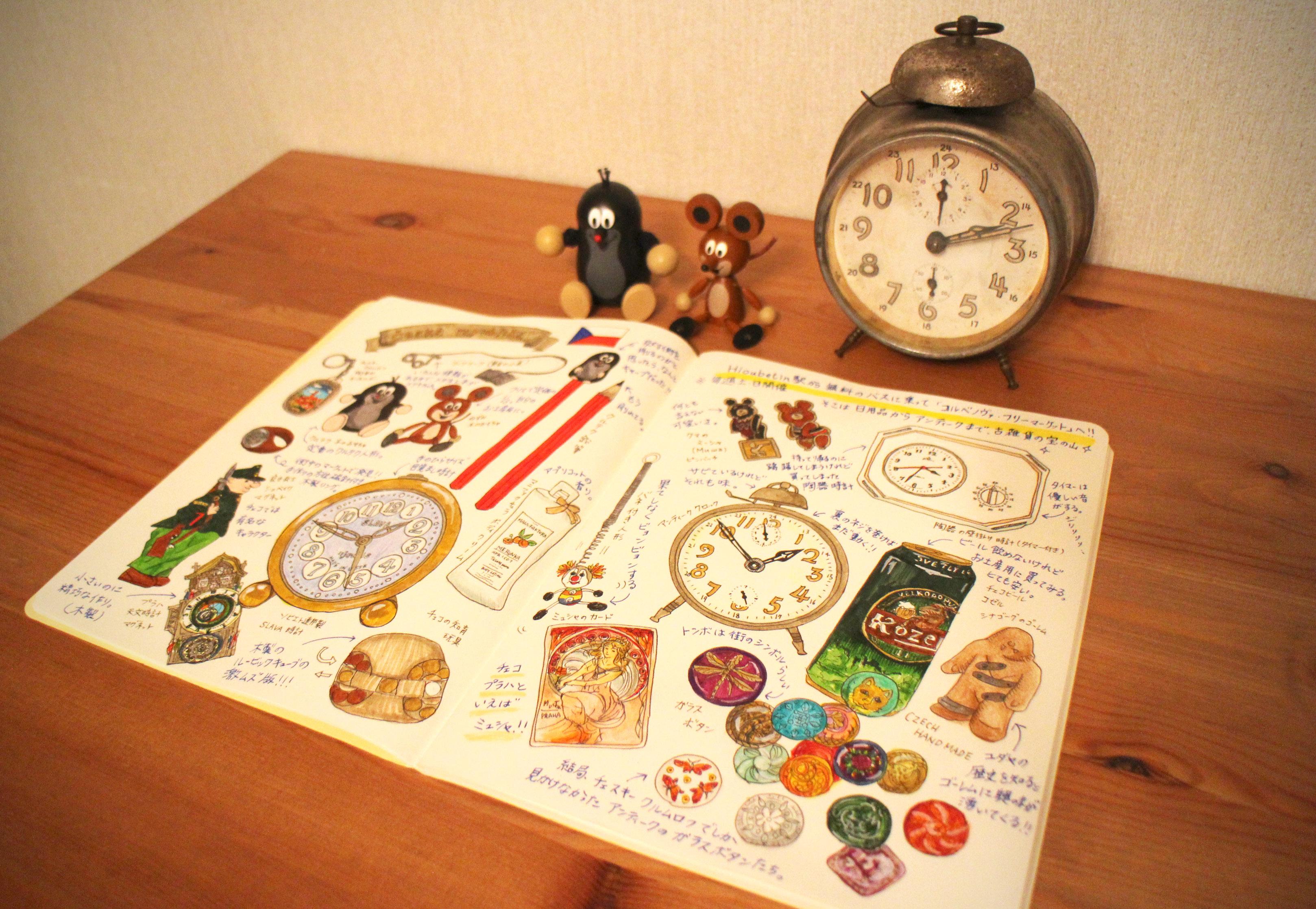 Souvenir notebook ~Czech Republic~
