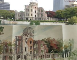 Hiroshima in japanese Moleskine