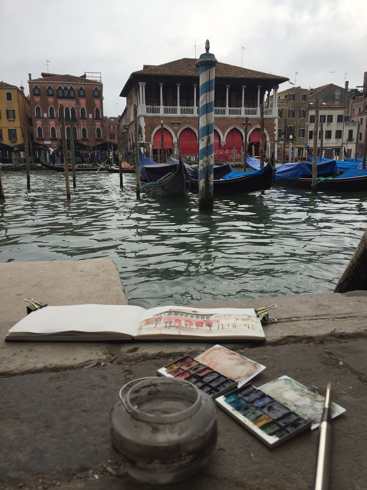 My Venezia Moleskine only travels to Venezia
