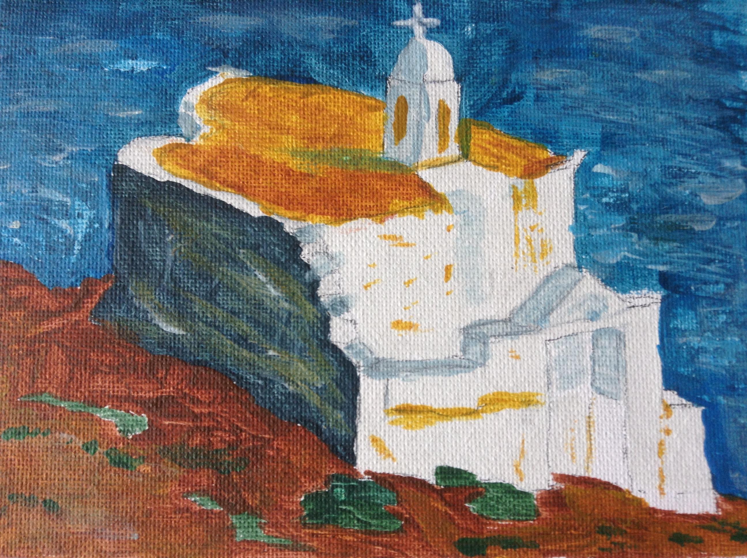 Little Church of St. Marc, Tinos Island Greece