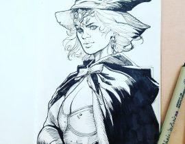 Friendly neighborhood witch