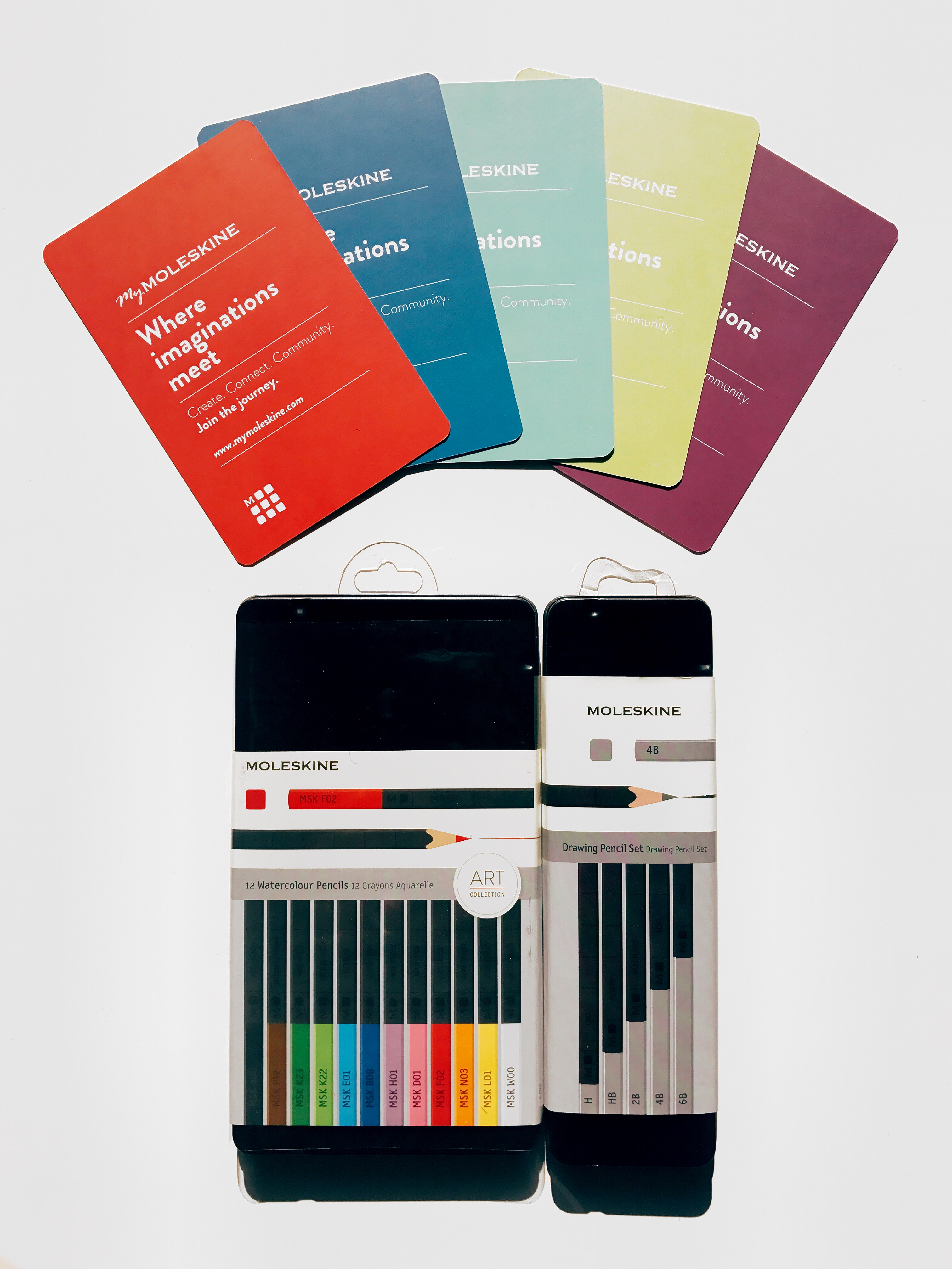 The new Sets of Moleskine Pencils