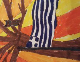 My daughter's art work