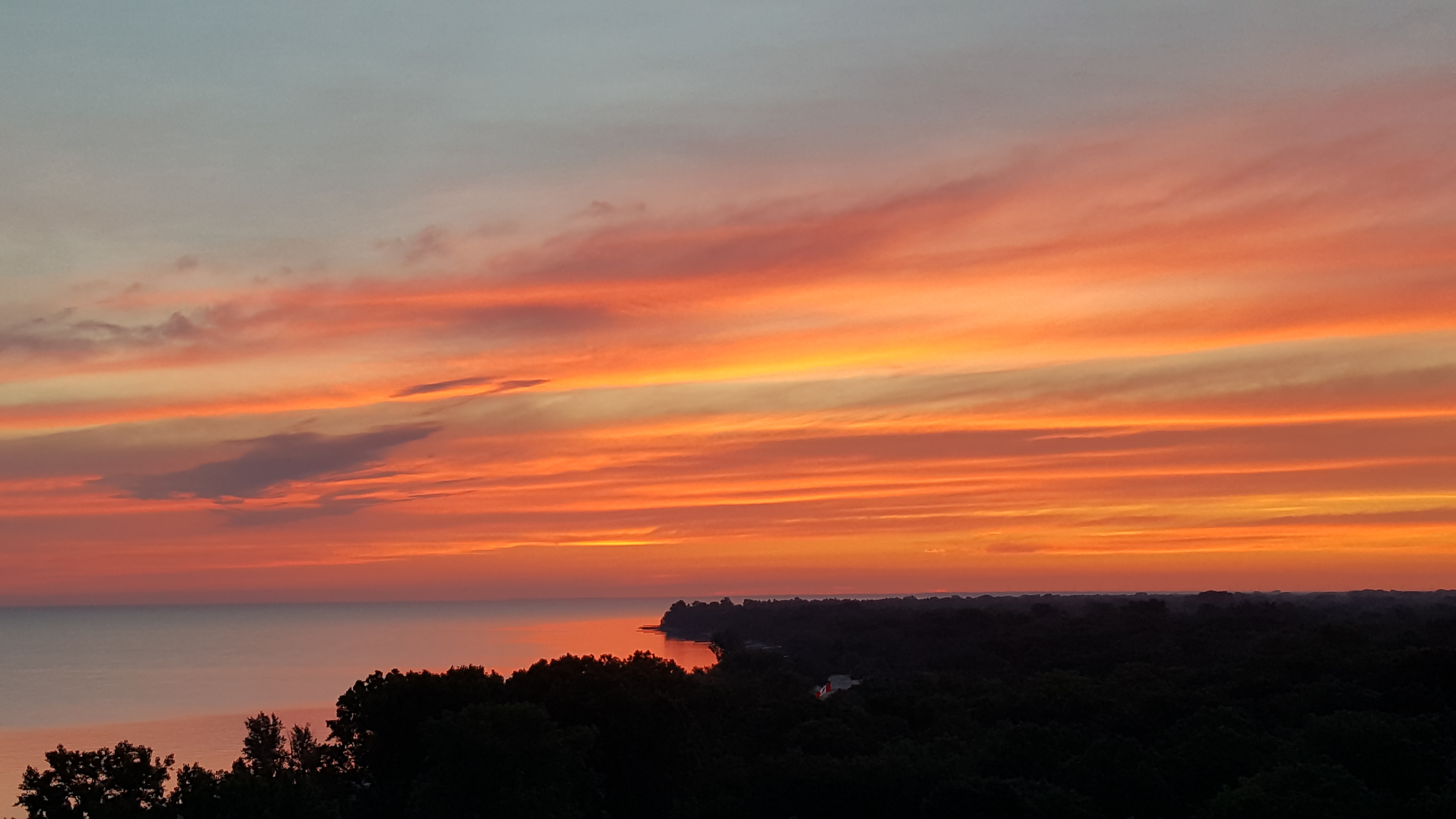 Sunrise on Sandy Lane