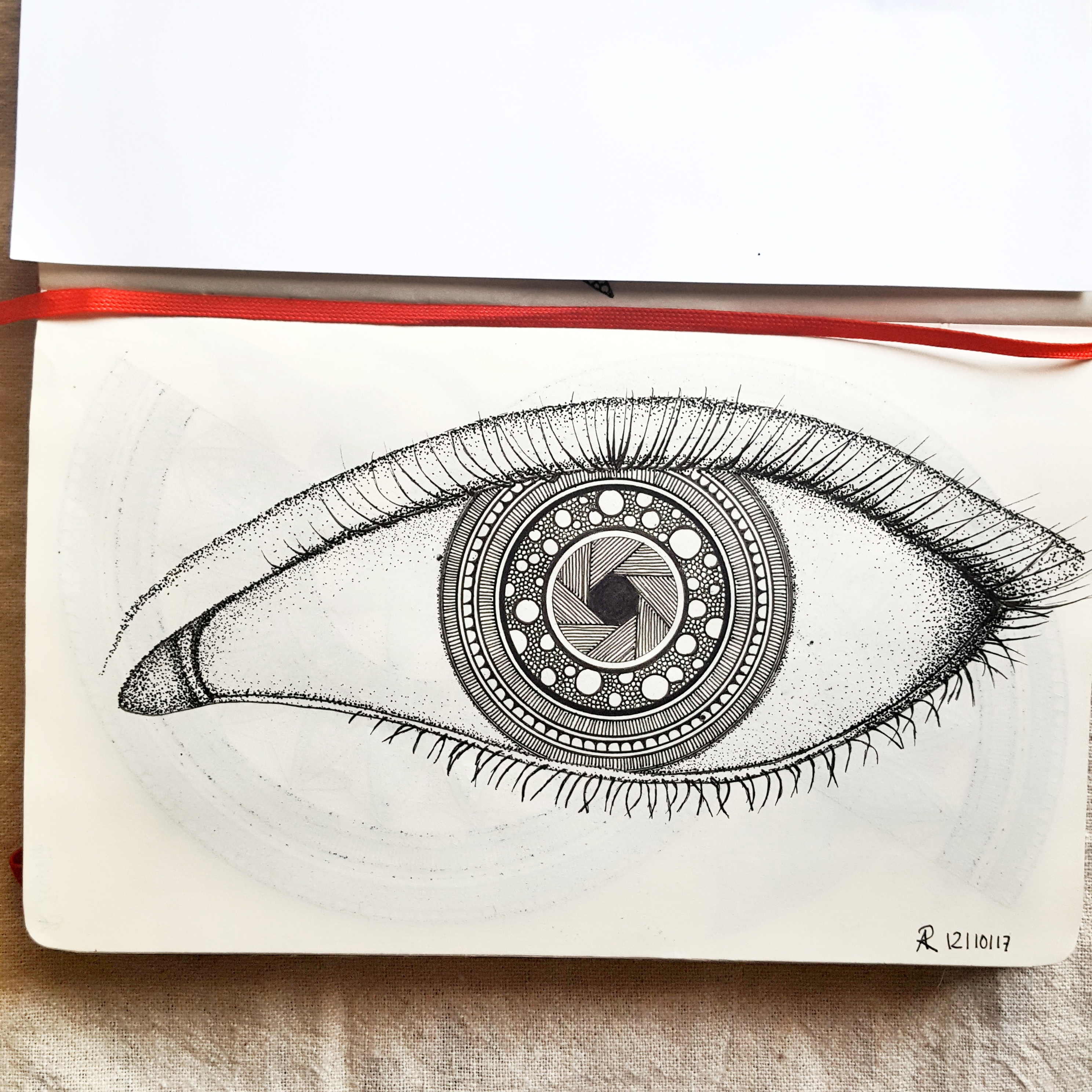 The eye of the photographer