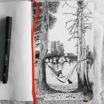 First attempt of sketching nature