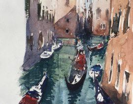 les gondoliers de Venice
