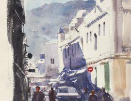 to the market. Tetouan, Maroc