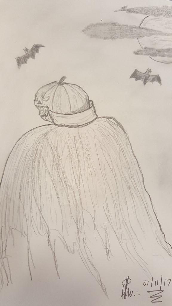 Pumpkin, the dark side…