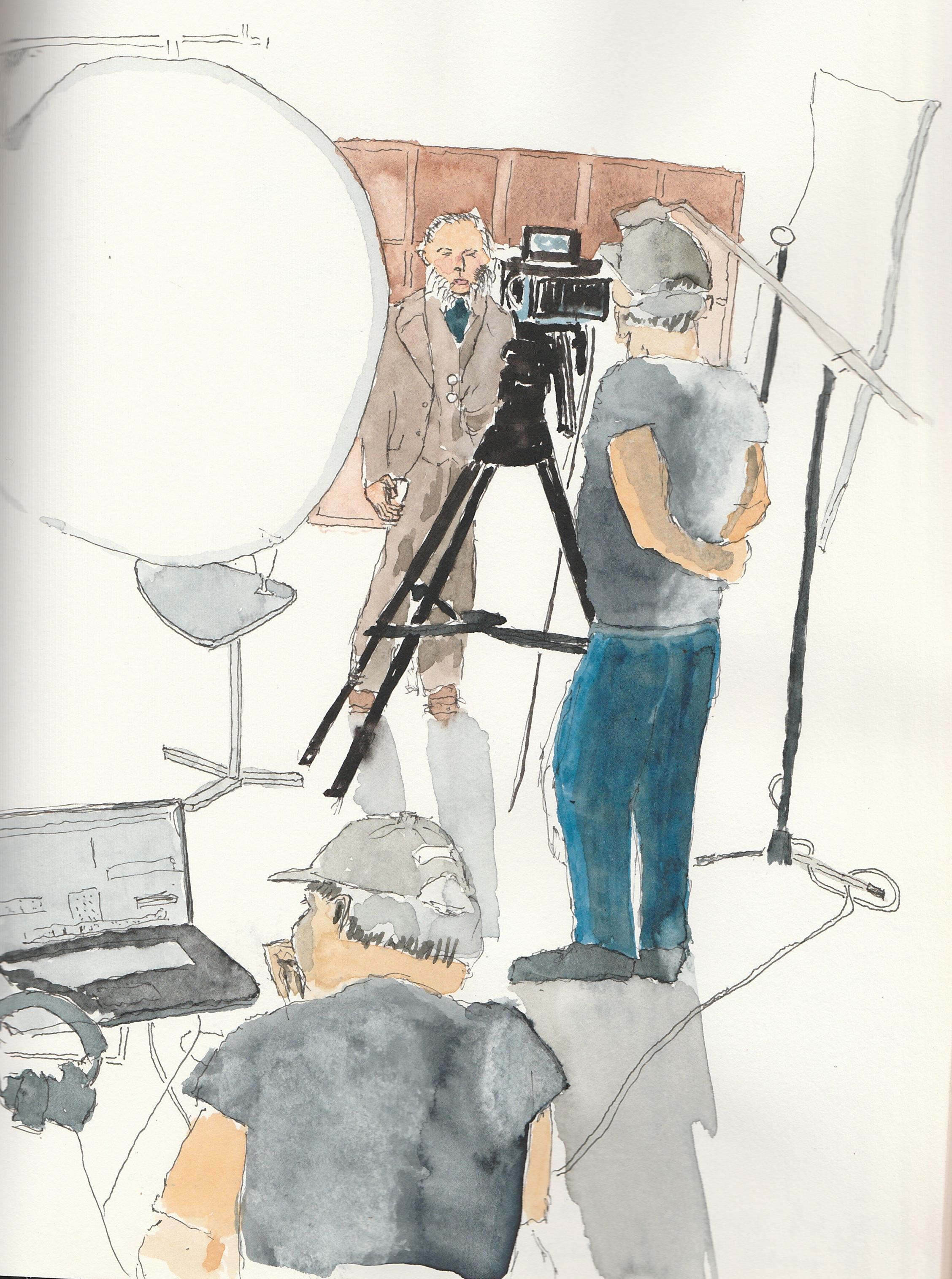 Filming, London, November 2017