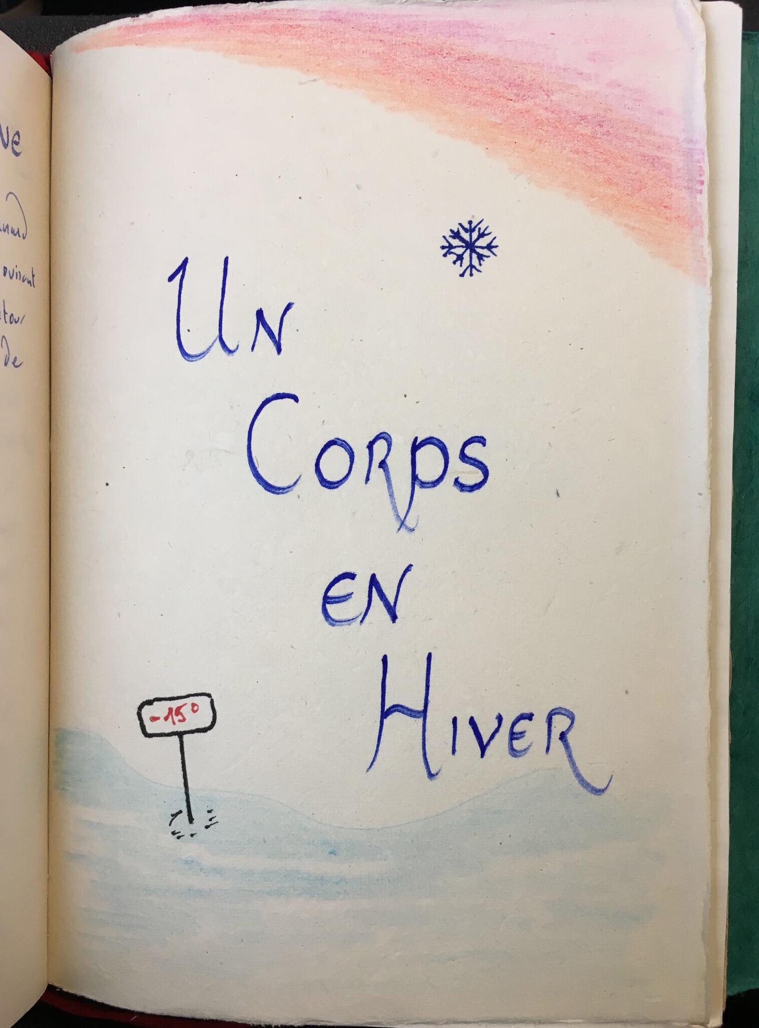 Un Corps en Hiver