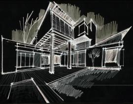 Study in antithetic dwellings