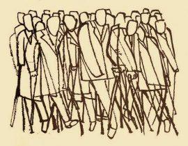 dissenting crowd