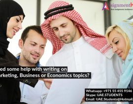 Best Online Assignment Help Company In UAE