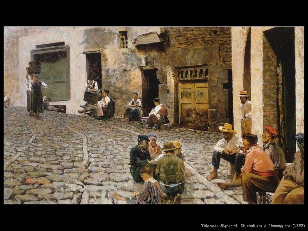 Chiacchiere a Riomaggiore (1893)