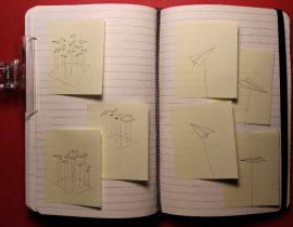 "sketches for ""AERO 1"" SL installation"