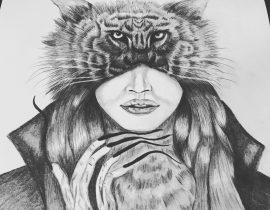 Wolf/Tiger, witch woman?